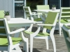 Seaside Casual SYM Square Dining - Leaf