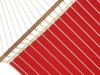 Red Quilted Hammock
