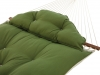Green Tufted Canvas Hammock