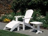 Seaside Casual Adirondack w/table