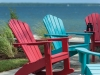 Seaside Casual adirondack rocker
