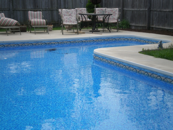 Vinyl liners pools patios and porches - Witte pool liner ...