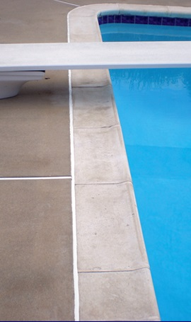 Replace Caulking Around Pool Coping Pools Patios And