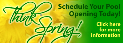 Schedule your pool opening